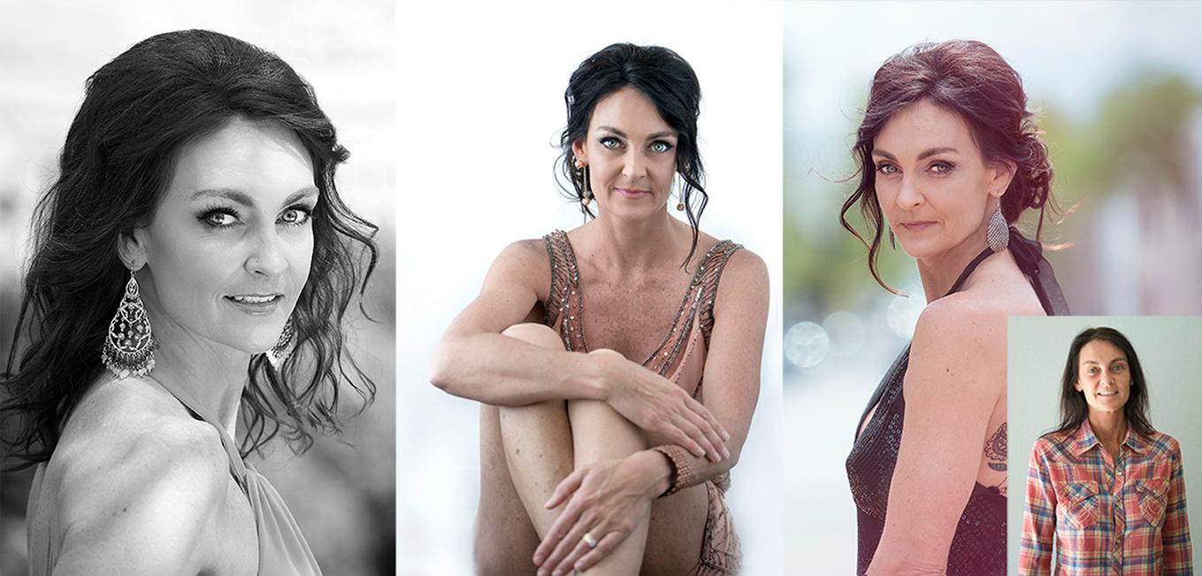 Mature women beauty portraits before after