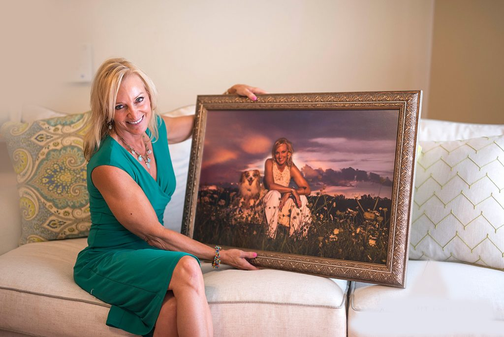 Framed family portraits for your home
