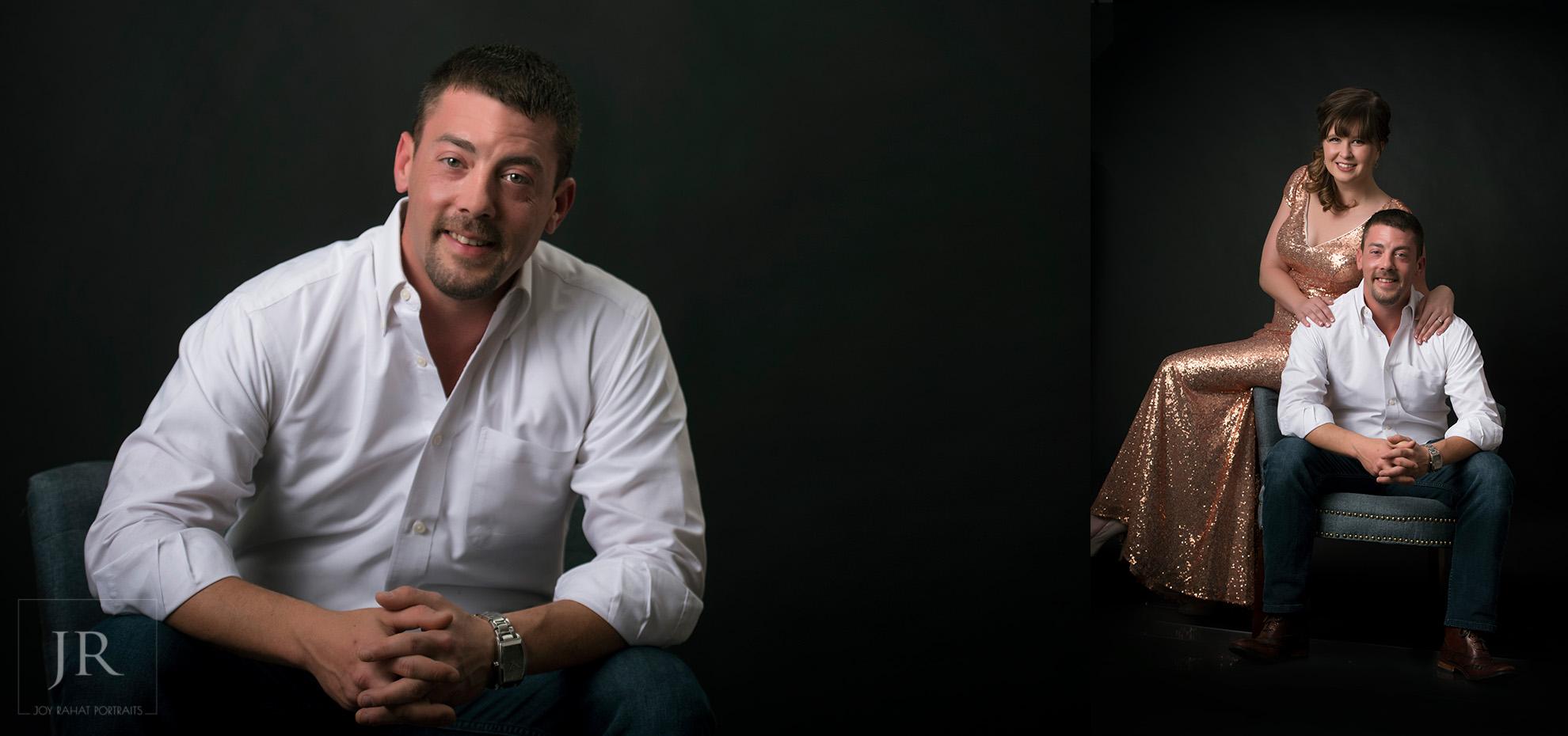 Couple portraits to celebrate wedding anniversary