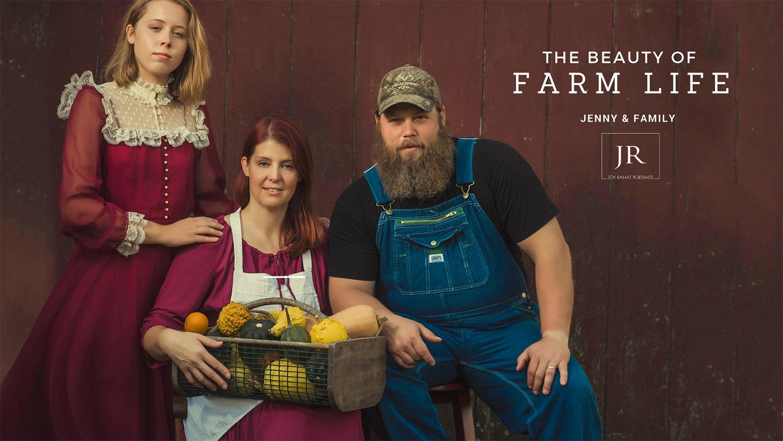 Shenandoah Valley Farm Family Photography