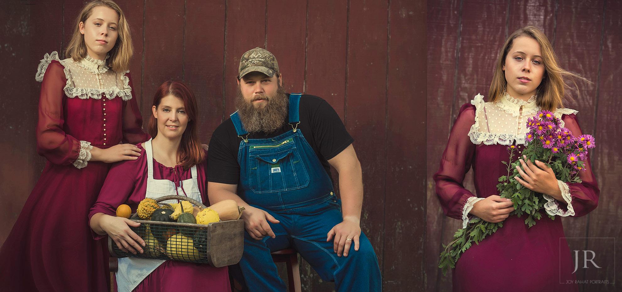 Winchester farm family portrait photography