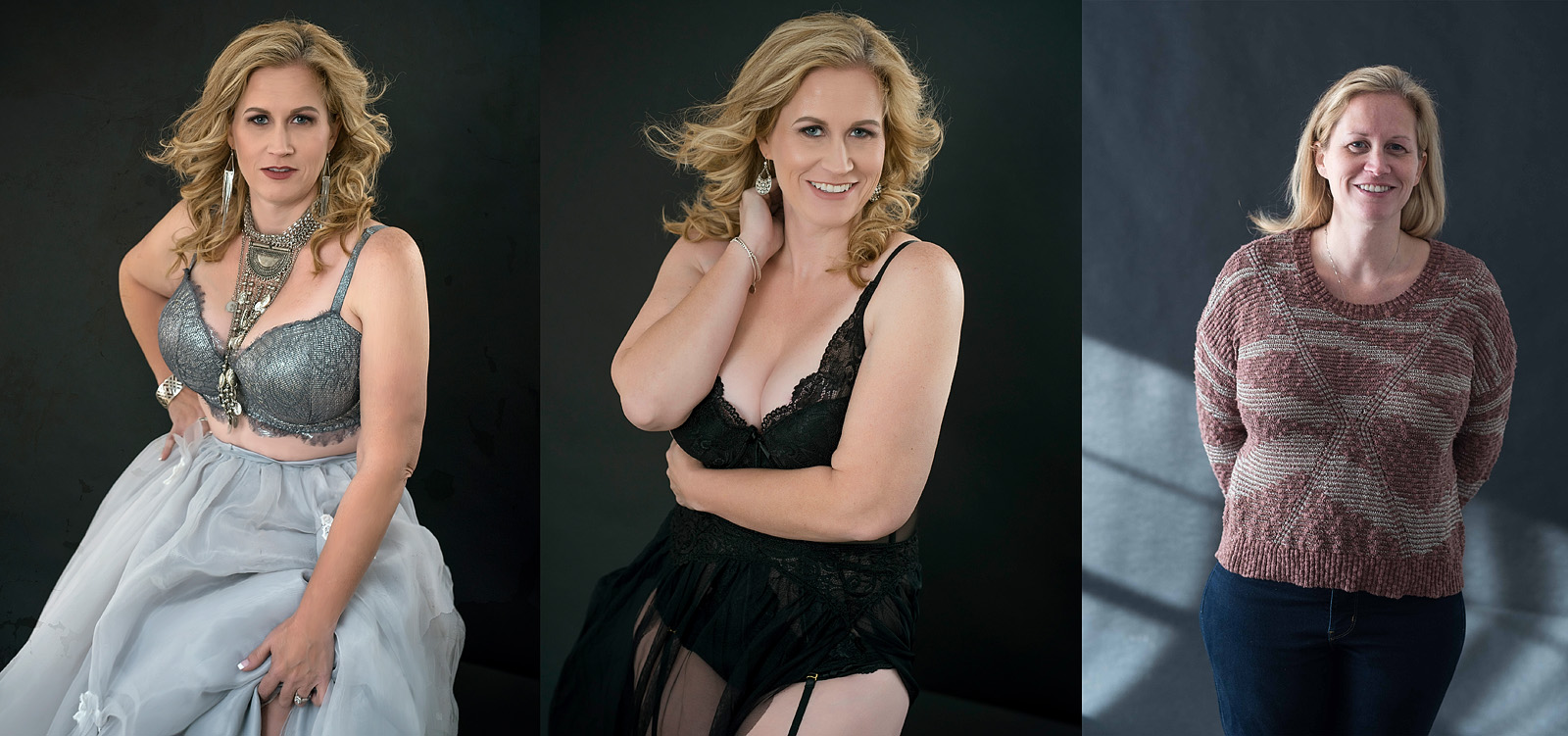 boudoir photographer before after
