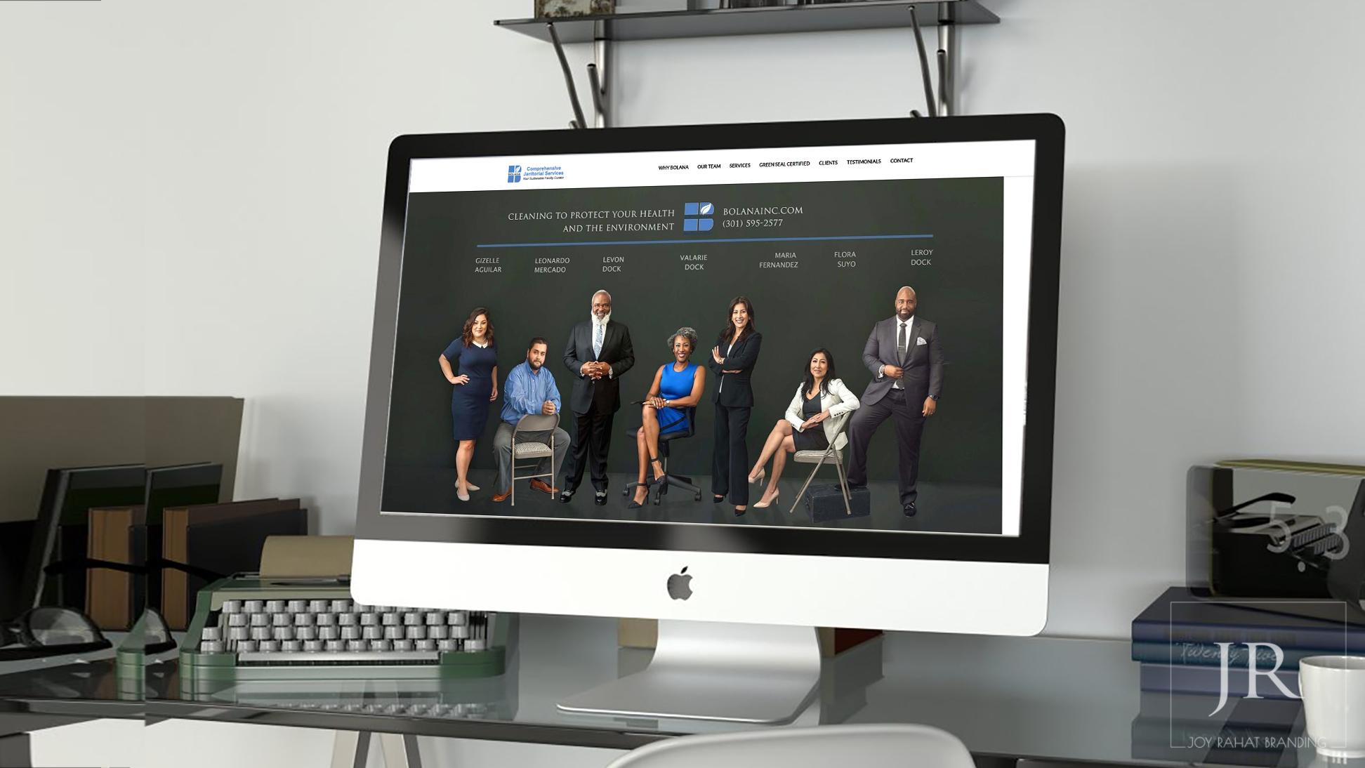 Rebranding website