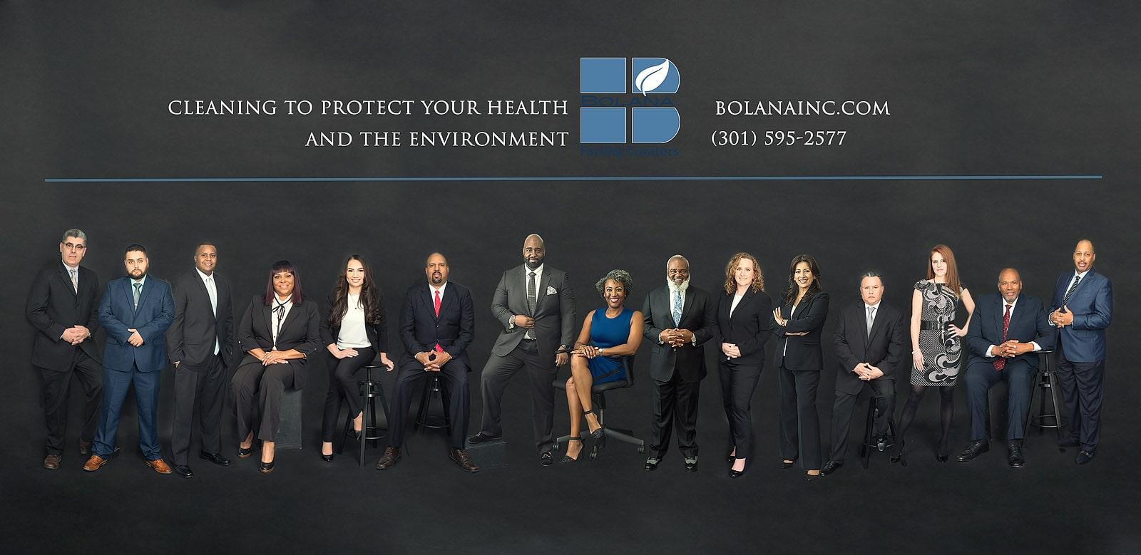DC corporate team portraits